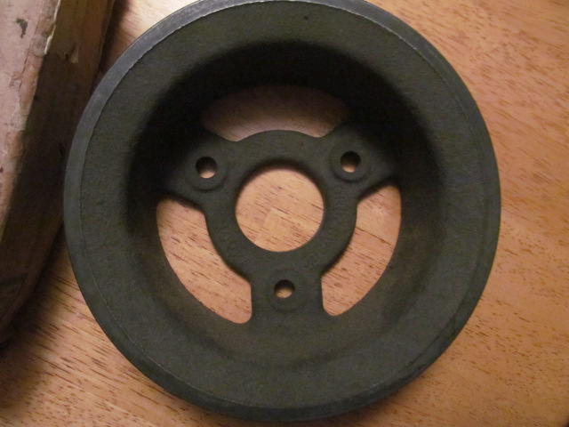 1966 1967 Camaro Chevelle L78 3 Groove Cast Iron Pulley