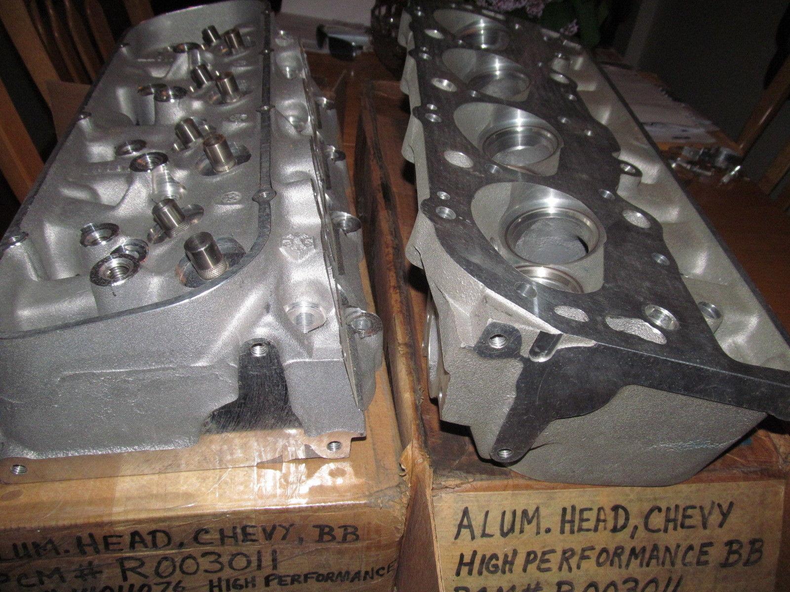 Nos L88 Zl1 Aluminum Heads 427 Corvette Camaro 427 King