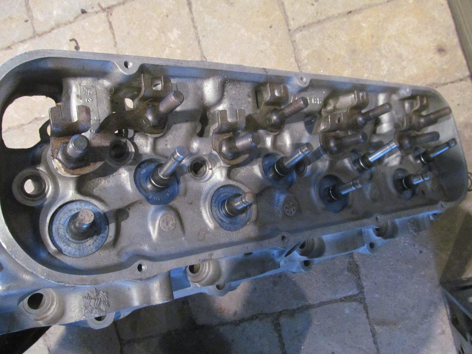 1969 ZL1 L88 Heads 4/5/69 Rebuilt 427 Aluminum